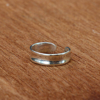 Sterling Silver Toe Ring BRAND NEW 925 Simple & Adjustable