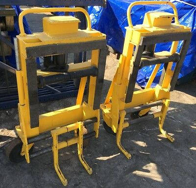 ROL-A-LIFT? 4000lb BULK HYDRAULIC LIFT HAND ROLLING TRUCK MOVING SYSTEM DOLLIES