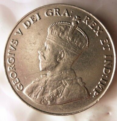 1926 CANADA 5 CENTS - AU - Early Date/Rare - FREE SHIP WORLDWIDE - HV15