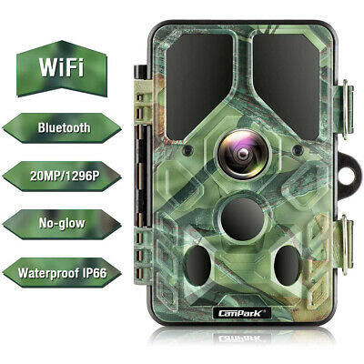 """Campark ACT74 4K 16MP WiFi FHD Action Cam 2.0"""" LCD Sports Camera Waterproof AU"""