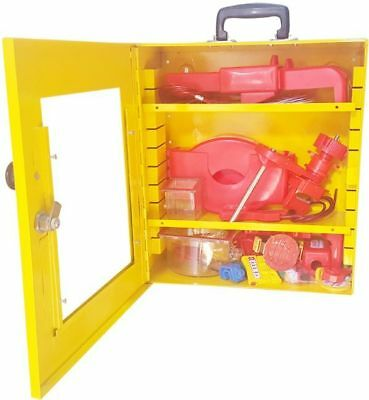 Asian LOTO Electrical Lockout Tagout Kit Lock out Station Complete