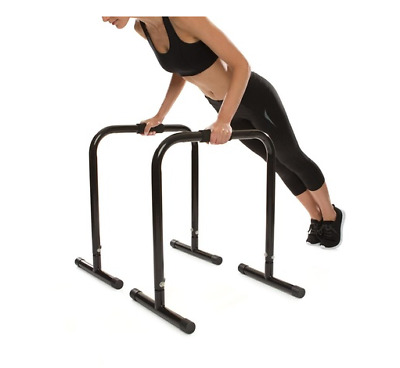 NEW 2 Pack Porta Bars Bodyweight Training Dips Crunches Abs Triceps Stability