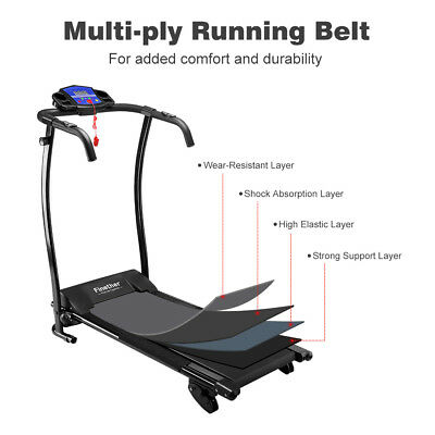 Finether Folding Electric Motorized Treadmill Running Jogging Walking Machine