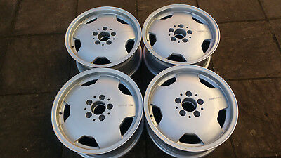 "Mercedes 190E Amg 16"" Alloy Wheels 2014000702 Cosworth"