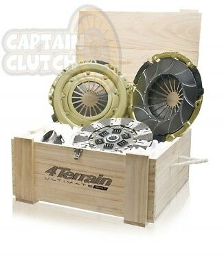 HEAVY DUTY 4Terrain Clutch Kit for TOYOTA LANDCRUISER HDJ80 4.2 L (1HD-FT) 90-98