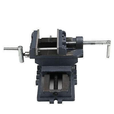 "100mm 4"" Cross Slide Engineering Working Vice Cast Iron Part Tool Vise Clamp"
