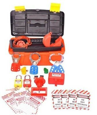 Asian Loto Lockout Tagout Tool Kit, ALC-KT 9