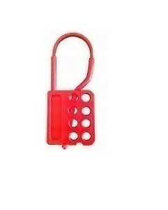 BrandNew Asian Loto Di-Electric Lockout Hasp with 8 Holes, ALC-8HDH (Pack of 10)