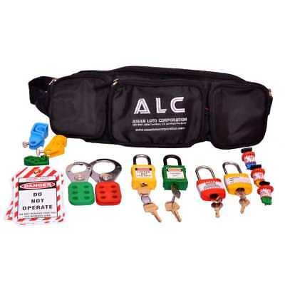 Asian Loto Standard Lockout Tagout Safety Kit With Professional Bag, ALC-KT 2