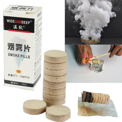 10Pcs/1Box Smoke Effect Show Cake Round Bomb Photography Aid Toy Tool Divine