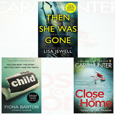 Thriller Pick Cara Hunter Close to Home Judy Book Club 3 Books Collection Set