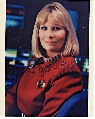 Grace Lee Whitney Star Trek Yeoman Rand Autograph Hand Signed 8x10 Color Glossy