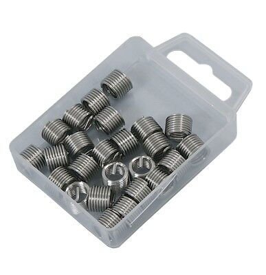 CT3060 25PC Helicoil Type Thread Repair Inserts M8 x 1.25mm In Storage Box New