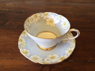 Vintage Paragon Cosmea Cup and Saucer