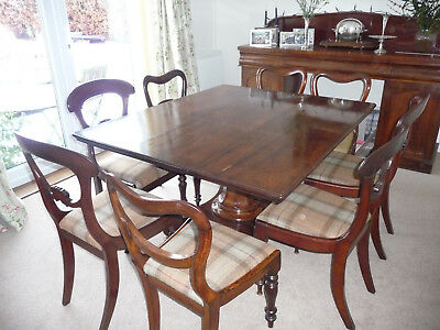 Superb Antique Mahogany Dining Table