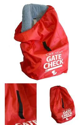 Car Seat Bag For Airplane Durable Airport Air Travel Gate Check Protector Cover