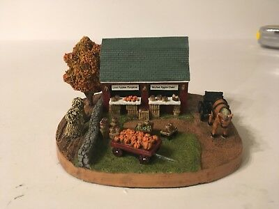 Danbury Mint Produce Stand Figurine 1994 Heritage Collection Horse Fruits