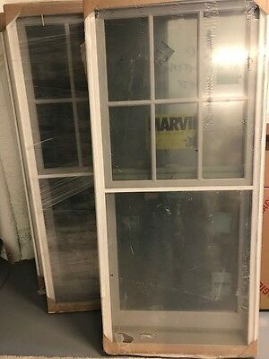 New In Plastic Marvan Double Hung Vinyl Windows