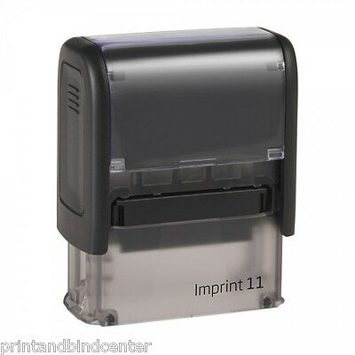 Rubber Stamp Self-Inking Trodat Imprint 11 3-4 Lines with custom text/ Logo