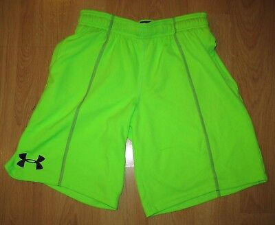 Under Armour Combine Training Size YMD-Med-M-Youth Boys Girls Lime Neon Green