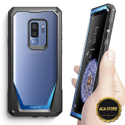 POETIC Guardian【360 Degree Protection】Case For Samsung Galaxy S9 Plus Blue