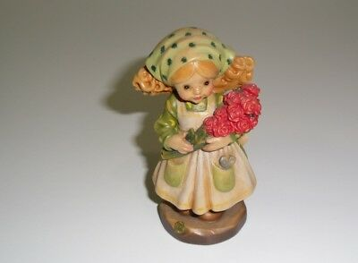 Anri  Figurine Ten Roses For You Signed