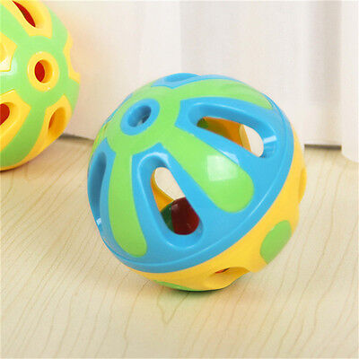Baby Gripping Colorful Bell Ball Educational Plush Toys Games parent kids gift