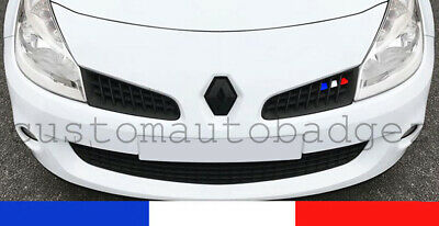 Renault Clio Mk3 RS Sport 197 French Flag Grille Stickers Vinyl 2.0 Renaultsport