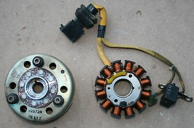 Gilera Dna 125 Dna125 2002 02 Genny Generator Fly Wheel Stator Rotor Fast