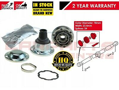 Volvo Awd Xc70 Xc90 S60 V70 S40 Propshaft Inner Cv Joint 78Mm With 24 Splines