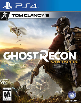 Tom Clancy Ghost Recon Wildlands - PlayStation 4 New Ps4 Games Factory Sealed