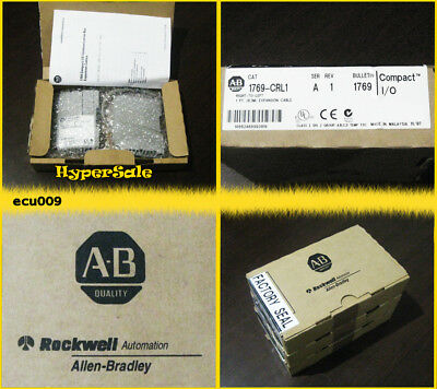 NIB Allen Bradley 1769-CRL1 Compact I/O Expansion cable. Right to left. [ecu009]