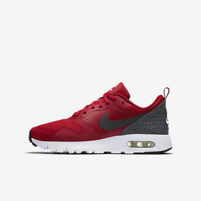 Nike Air Max Tavas (GS) 814443-600 Gym Red Anthracite Youth Boy's Running Shoes