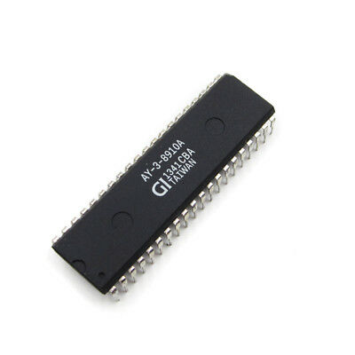 1PCS AY-3-8910A Programmable Sound Generator IC DIP40 NEUE GUTE QUALITÄT