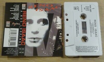 Cassette K7 Tape RENO ISSAC FDK 1081 A Nos Loopings Made in France