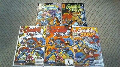 Gambit And The X-Ternals 1-4, 1-1St 1-2Nd 2 3 4 Complete Series Set Marvel /242/