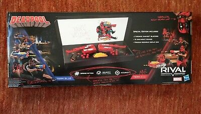 Nerf Rival Deadpool Kronos Xviii-500 Dual Pack -- Limited Edition, Nib
