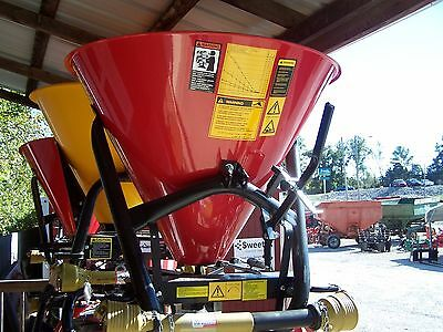 New Tar River  SSS-300  3 pt. Spreader/Seeder --Can ship fast and cheap!