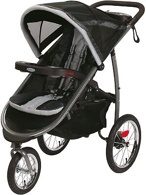 Graco FastAction Fold Jogger Click Connect Jogging Stroller Gotham Baby New Best