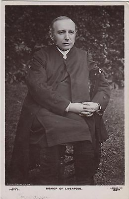 Bishop of Liverpool,  Francis James Chavasse,  Rapid R/Photo/Pc, # 1387