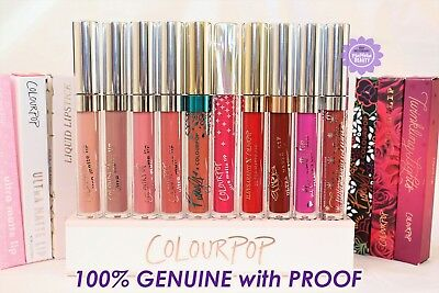 ColourPop - Ultra Matte Lipstick *100% Genuine with PROOF* Liquid Lipstick