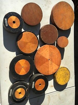 Lot of antique mercantile foundry molds / steampunk
