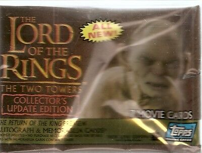 2003 Topps Lord of the Rings The Two Towers Update  Base Card Set