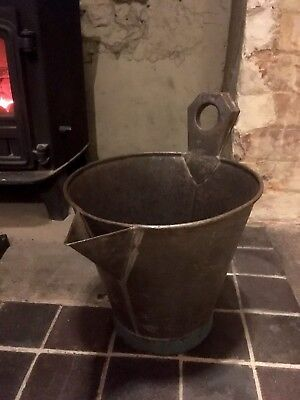 Lovely Antique Bucket With Spout