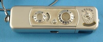 Minox B Spy Subminiature Camera w/ Leather case Clean Vintage NR