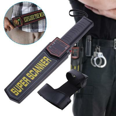 Portable Hand-held Metal Security Detector Super Scanner Wand Airport Scanner NJ