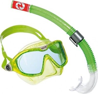 Aqua Lung Sport Kid's Mix Mask and Snorkel Combo - Lime