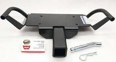 """WARN 70919 - Winch Mounting plate for 2"""" Receiver Hitch, 4000 & 4500 lb. Winches"""