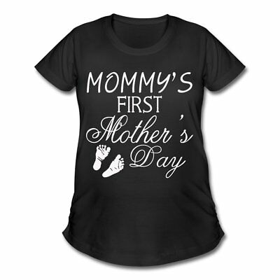 Pregnancy First Mother's Day Women's Maternity T-Shirt by Spreadshirt™