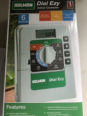 Holman 6 Station Dial Ezy Irrigation Controller